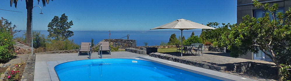 Villa Atlantico - Ferienhaus mit beheiztem Pool & Internet, Tijarafe | La Palma Travel