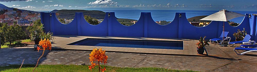 Villa Greca - Luxus-Ferienhaus mit Pool, Westseite | La Palma Travel