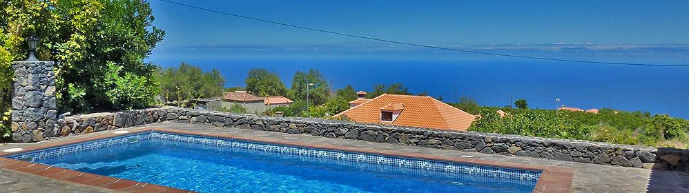 El Fayal - Ferienhaus mit Pool und Internet in Puntagorda | La Palma Travel