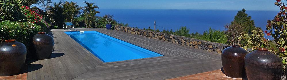 Jardin y Casa La Verada - Luxus-Ferienhaus mit beheiztem Pool | La Palma Travel
