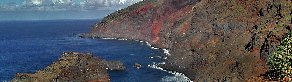 Ferienhäuser Fincas im Nordwesten La Palma - Puntagorda, Tijarafe Garafia