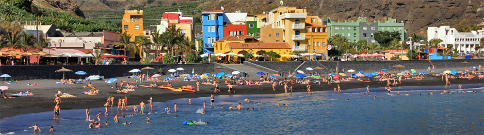 Vacation houses and apartments - Puerto de Tazacorte - La Palma