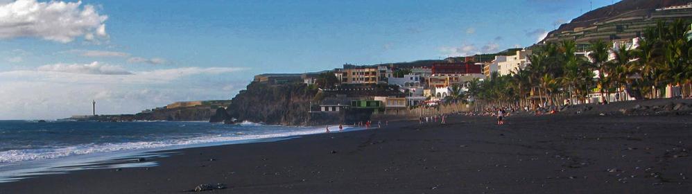 Strand von Puerto Naos - La Palma