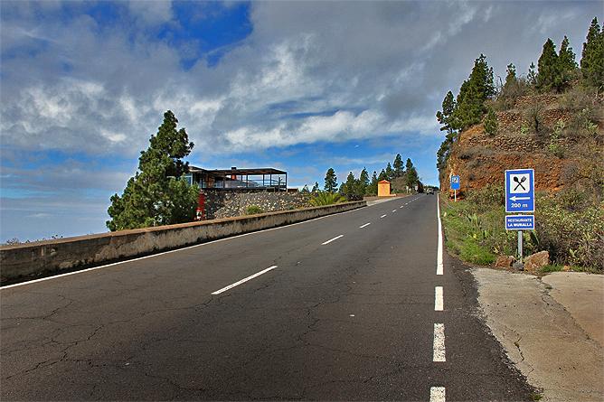 Resultado de imagen de La Palma, la LP-1 Tijarafe-Puntagorda
