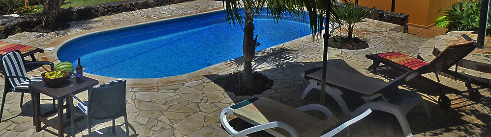 Villa Vista Azul - Ferienhaus mit beheiztem Pool in La Punta | La Palma Travel