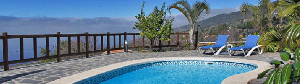 Villa Arriba - Ferienhaus mit Pool in Tijarafe | La Palma Travel