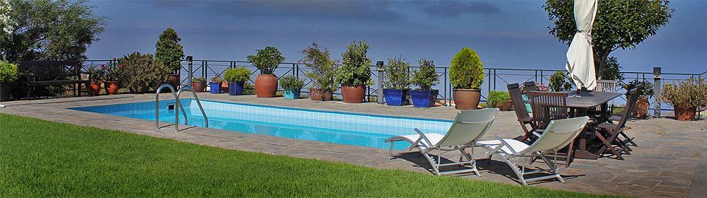 La Palma - Ferienhaus Ferienwohnung Finca mit Pool