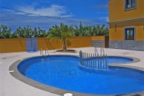 Apartamentos con piscina en la Villa de Tazacorte