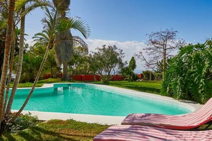 Finca-Tropical - Blick von Casa Amarilla aus