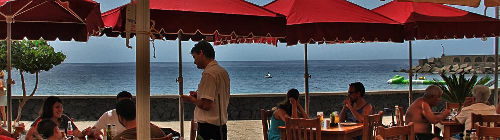 Kiosko Teneguia - Puerto de Tazacorte - La Palma