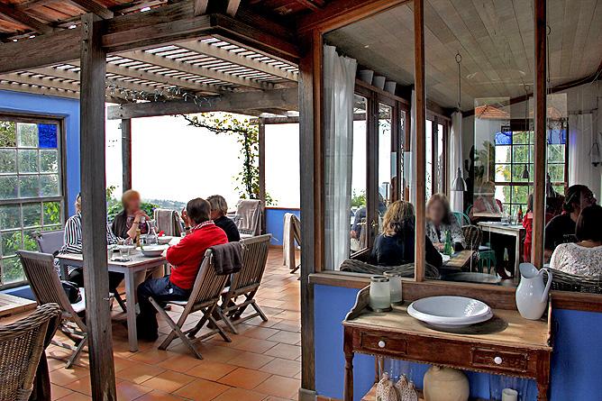 Restaurante Azul El Castillo Garafia La Palma Comedor