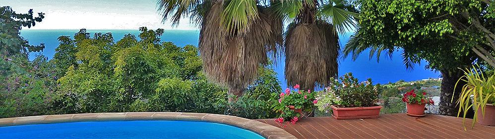 El Manso - Ferienhaus mit Pool und Internet in Tijarafe | La Palma Travel