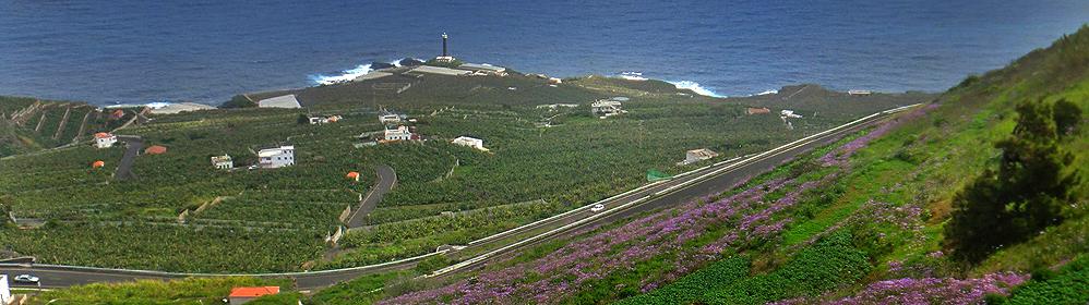 Faro Punta Cumplida - Leuchtturm von Barlovento - La Palma Travel