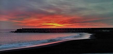 playa-puerto-de-tazacorte-pusta-de-sol-sunset