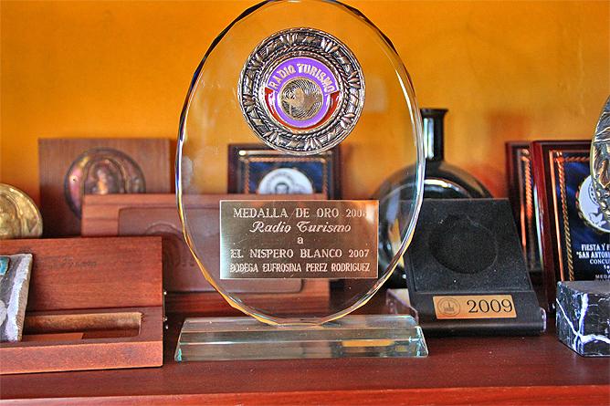 bodega-el-nispero-la-palma-medalla-de-oro