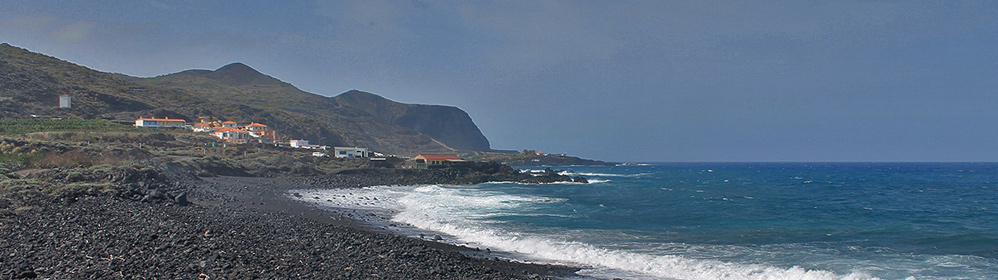 Beach Playa Salemera - La Palma Travel