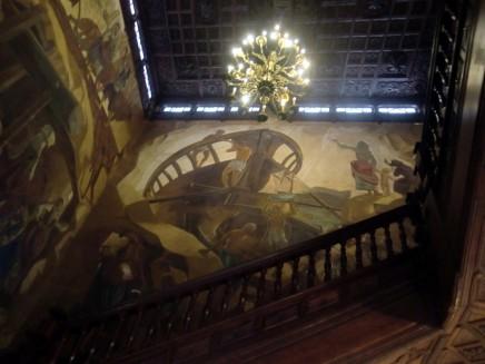 santa-cruz-la-palma-calle-o-daly-kanaren-rathaus-ayuntamiento- wandgemaelde