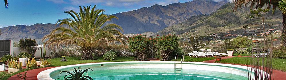 El Castaño - günstige Unterkünfte mit Pool auf der Westseite | La Palma Travel