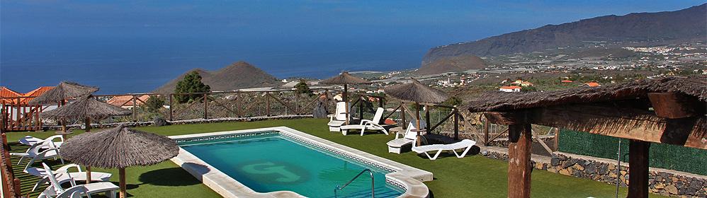 Fuente la Teja - Ferienanlage mit Pool und Internet in Las Manchas | La Palma Travel