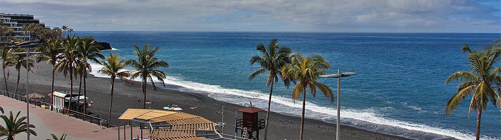 Apartamento Nisamar 3D - Apartment direkt am Strand in Puerto Naos | La Palma Travel