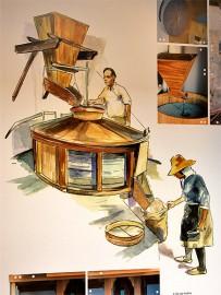 migo-gofio-trigo-museo-las-tricias-garafia-la-palma-illustration