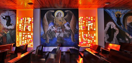san-miguel-iglesia-sankt-michael-kirche-villa-de-tazacorte-wandgemaelde-fenster