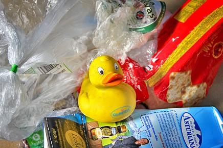gummi-plastik-ente-recycling-verpackungs-muell
