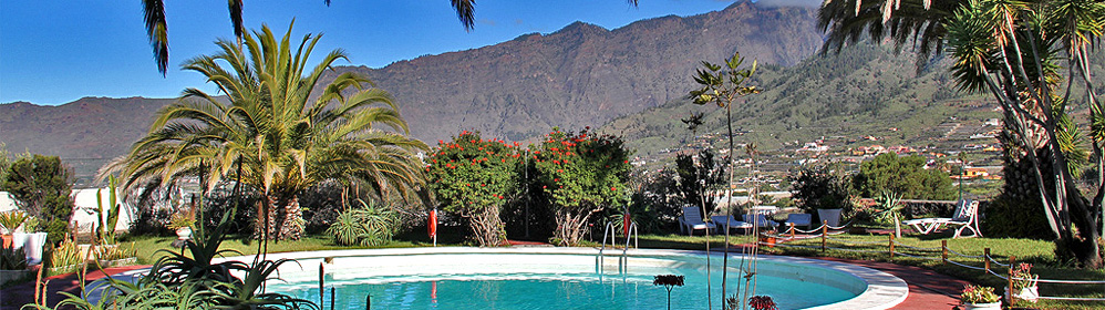 El Castaño Bungalow - Ferienhaus mit Pool - Celta | La Palma Travel