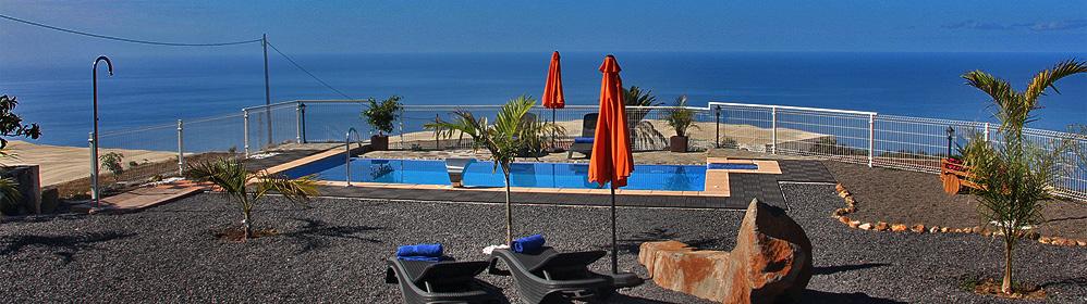 La Capellania - Ferienhaus mit Pool - Tijarafe | La Palma Travel