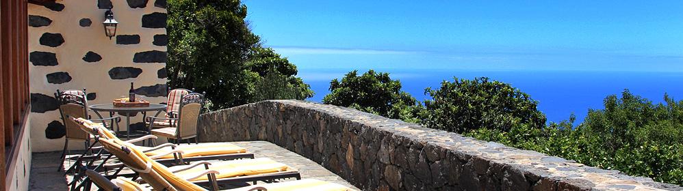 La Palma Aguatavar Tijarafe Ferienhaus Ferienwohnung Finca