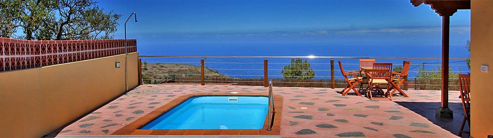 Casa Florita - Ferienhaus mit Pool und Internet in Puntagorda | La Palma Travel