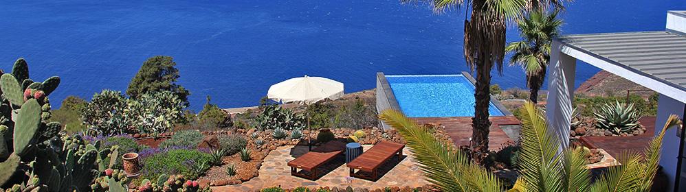 Villa Gran Horizonte - Ferienvilla mit Pool, Puntagorda | La Palma Travel