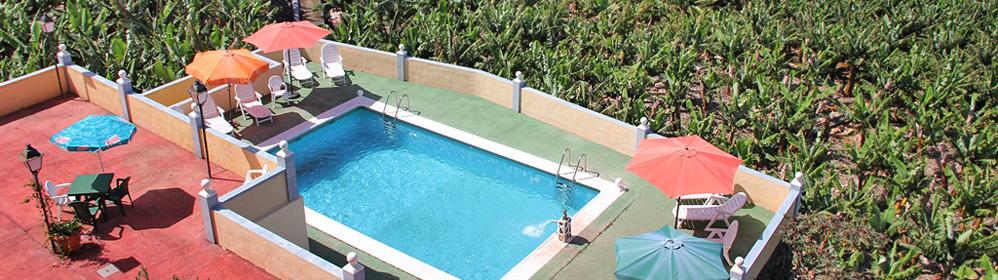 Apartamentos Soleados - günstige Ferienwohnungen mit Poo in Tazacorte | La Palma Travel