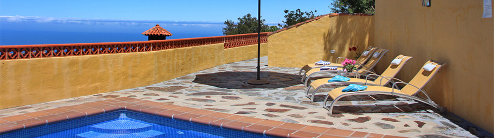 El Rodadero - accomodation with swimming pool, Puntagorda | La Palma Travel