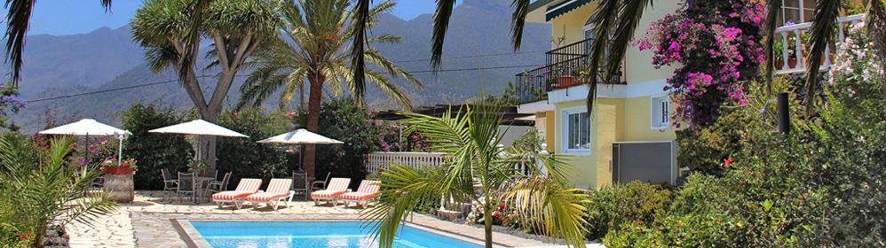 La Palma Tajuya Ferienhaus Ferienwohnung Finca