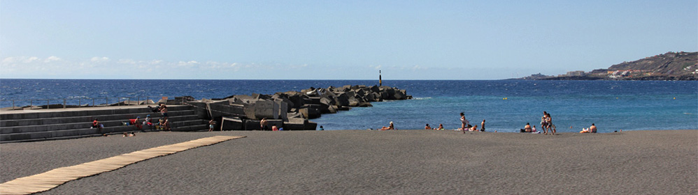 Playa de Santa Cruz de La Palma - La Palma Travel