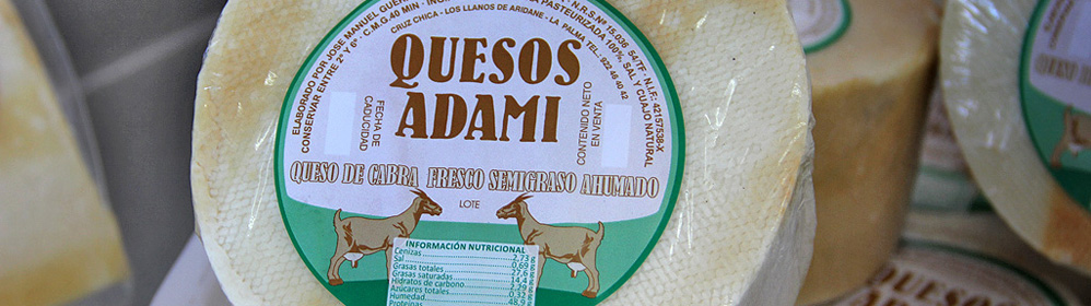 Quesos Adami – Goats cheese from the municipaility of Los Llanos de Aridane - La Palma Travel