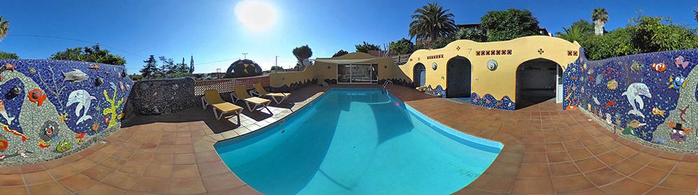 Finca Federle - Unterkünfte mit beheiztem Pool und Internet im Aridanetal | La Palma Travel