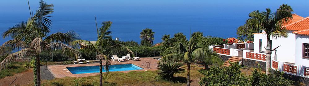 Casa Sol - Ferienhaus mit Pool in La Punta de Tijarafe | La Palma Travel