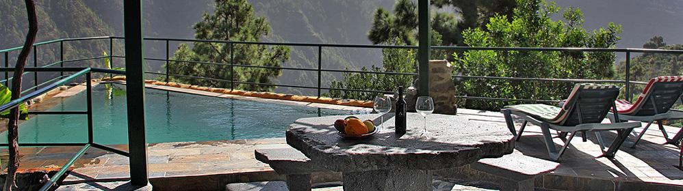 Casa Valpau - alojamiento con piscina en el parque nacional | La Palma Travel