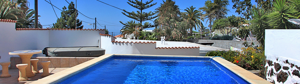 Casa Petrilla - Bungalow mit beheiztem Pool in Tajuya | La Palma Travel
