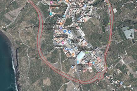 Bau der LP-2 Los Llanos-Tazacorte Umgehungsstrasse - La Palma Travel