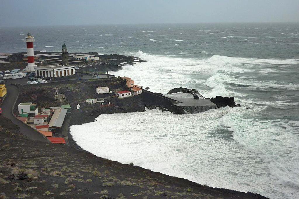 Sturm Richtung Faro - La Palma Travel