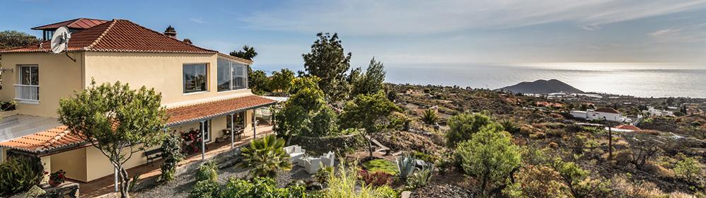 Finca Paraiso - Ferienhaus mit Pool und Internet auf der Westseite | La Palma Travel
