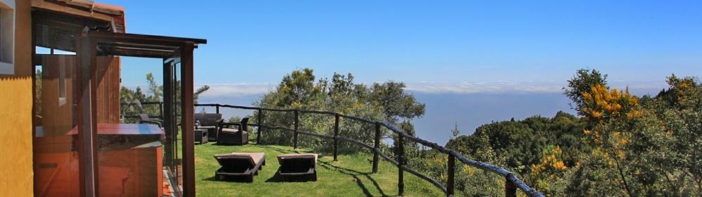 Rincón de Garafia - Casa vacacional aislada con jacuzzi y sauna