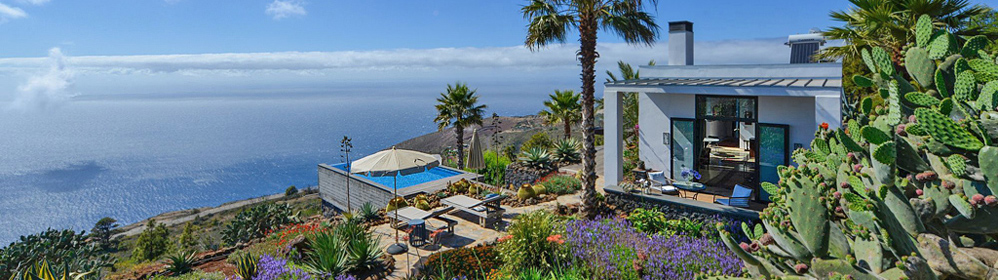 Villa Gran Horizonte - Ferienhaus mit Pool, Puntagorda | La Palma Travel