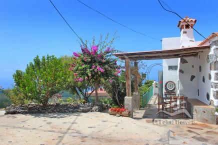 Casa la Capellania hintere Terrasse