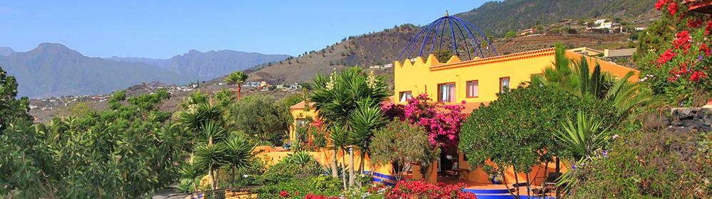 Finca Mañana - Unterkünfte mit Internet auf der Westseite | La Palma Travel