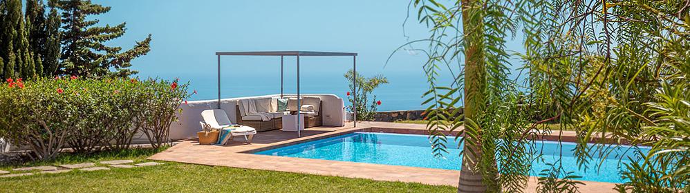 Sie suchen nachhaltigen Urlaubsmöglichkeiten mit Komfort auf der Kanareninsel La Palma?