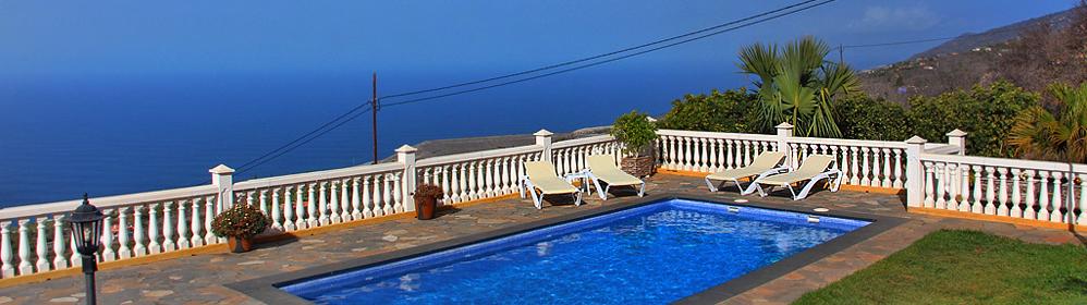 Villa La Planta - Ferienhaus mit Pool im Nordwesten | La Palma Travel